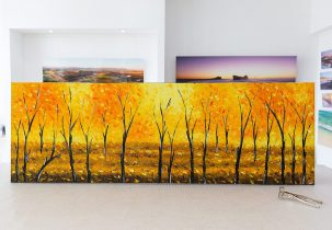 Oil Paintings on Canvas Stretched