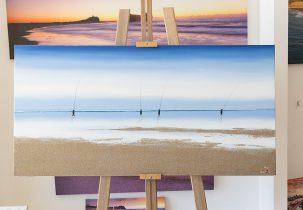 Unique Sand Canvas Stretched